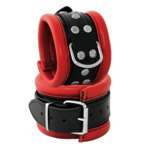 Leder Handfessel  Rot - 0101-2R