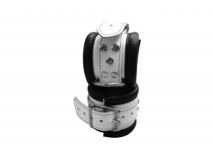 Leder Handfessel Weiß - 0101-2W