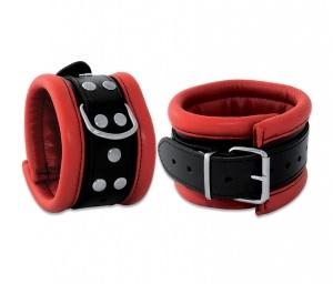 Leder Fußfessel Rot - 0101-3R