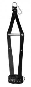 Halshängefessel aus Leder - 0111