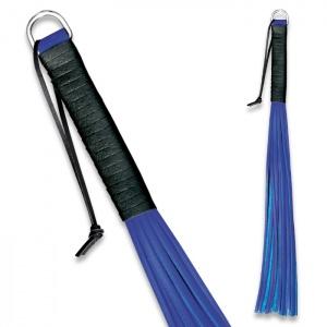Peitsche aus Leder Blau - 0149-B