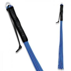 Peitsche aus PVC Blau - 0161-1B