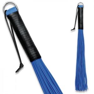 Peitsche aus PVC Blau - 0161-3B