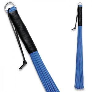 Peitsche aus PVC Blau - 0161-2B