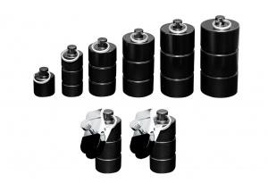 Tonnen Gewichte Set mit Klammern - 0253-1-6