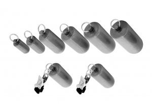 Patronen Gewichte Set mit Klammern - 0255-1-6