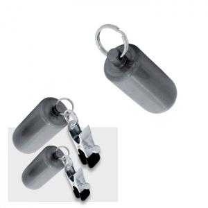 Patronen Gewichte 100 g mit Klammern - 0255-2