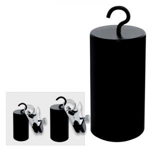 Haken Gewichte 500 g mit Klammern - 0254-6