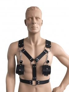 Männerharness mit Handfessel - 0440-S LXL