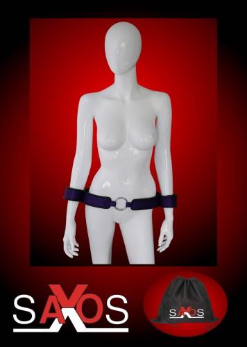 Purple Wrist to Waist Belt with Hand Cuffs -