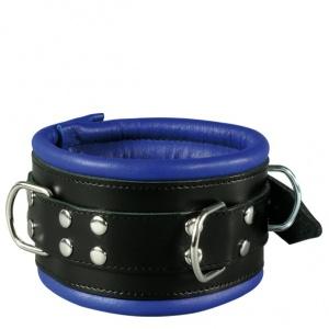 Leder Halsfessel Blau - 0102-1B